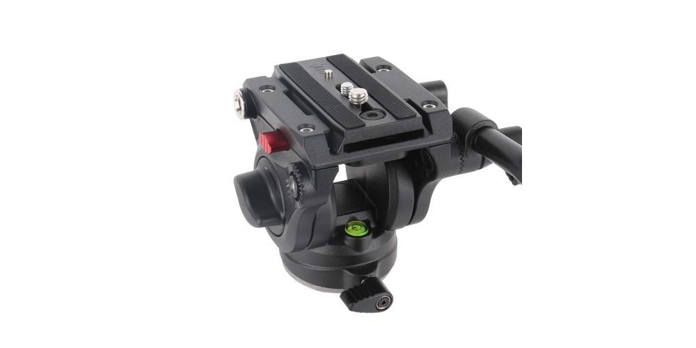 Avella V501 Video Camera Tripod Fluid Drag Pan Head Image