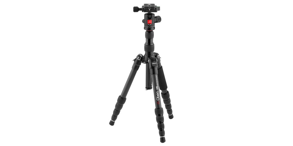 Oben CT-3535 Folding Carbon Fiber Travel Tripod Image