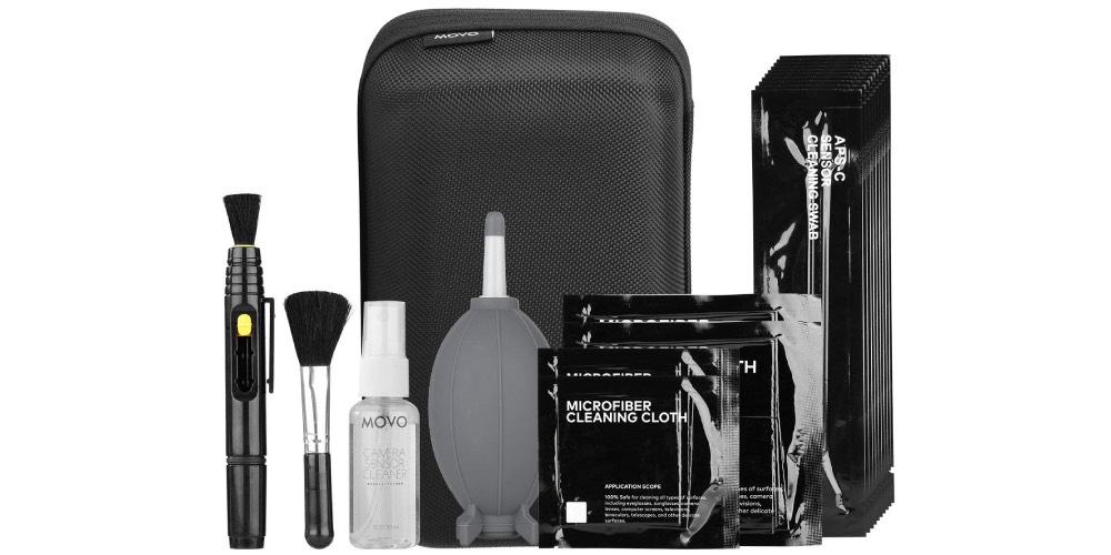 Movo Deluxe Essentials DSLR Camera Cleaning Kit Image