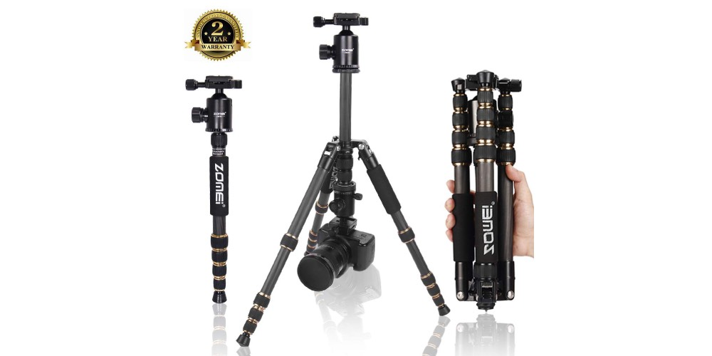 ZOMEi Z669C Ultra Travel Tripod Image