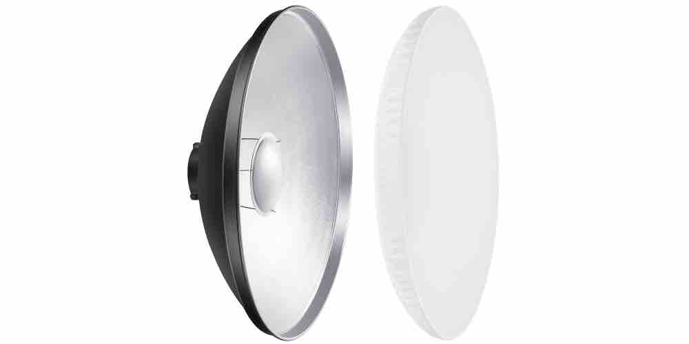 Neewer 16-inch Aluminum Standard Reflector Beauty Dish Image