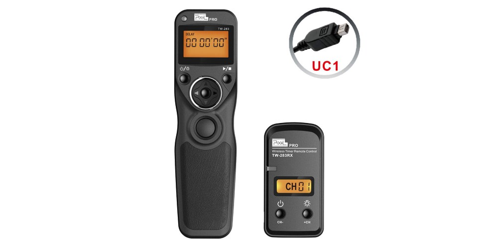 Meyin Pixel Timer Shutter Release Remote Control TW/283-UC1 Image