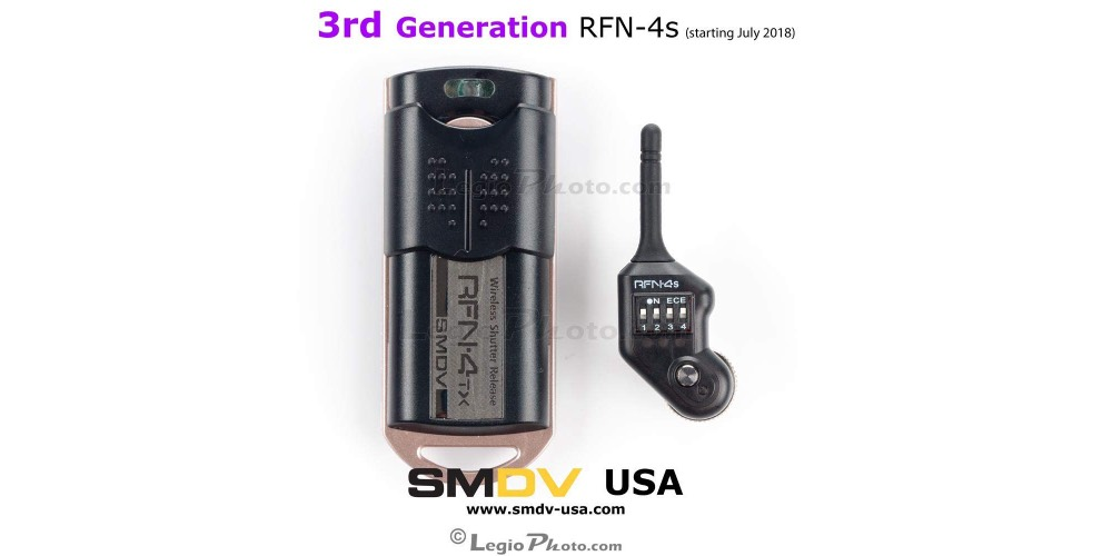 RFN-4s Wireless Remote Shutter Release Image