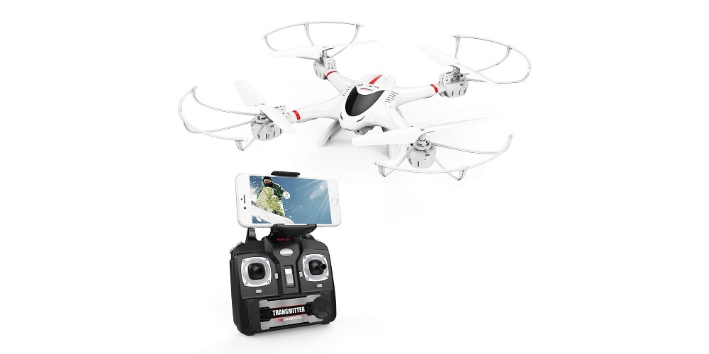 DBPOWER X400W FPV RC Quadcopter Drone with WiFi Camera Image