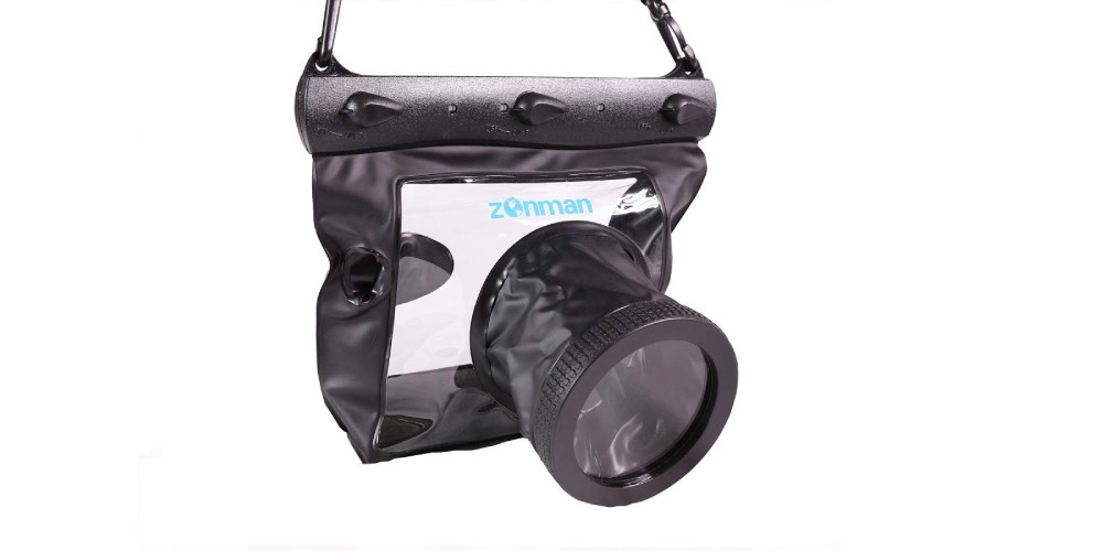 Zonman DSLR Camera University Waterproof Underwater Housing Case Image