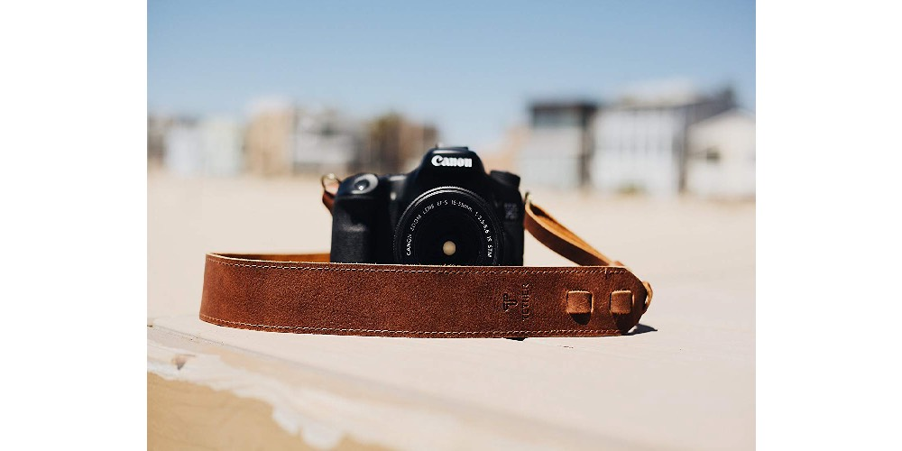 TETHER Leather Camera Strap Image