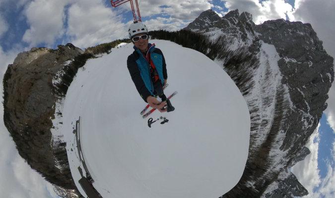 Best 360 cameras Image- Mountain- Snow