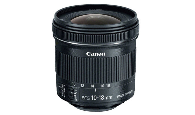 Canon EF-S 10-18mm f/4.5-5.6 IS STM image