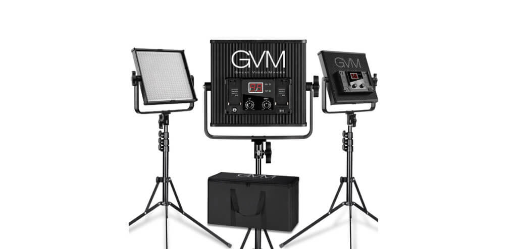 GVM Great Video Maker LED Video Light Kit Image
