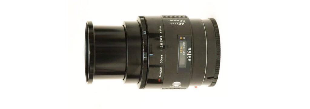 Maxxum 50mm 2.8 macro Image