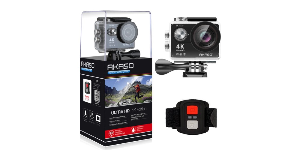 AKASO EK7000 4K WiFi Sports Action Camera Image
