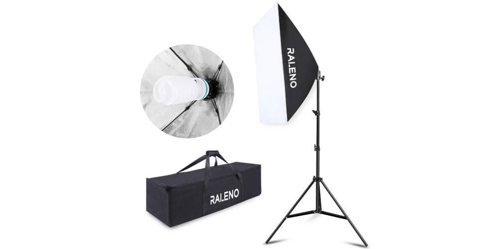 "Raleno Softbox 20""x28"" Photography Lighting Professional Photo Equipment Image"