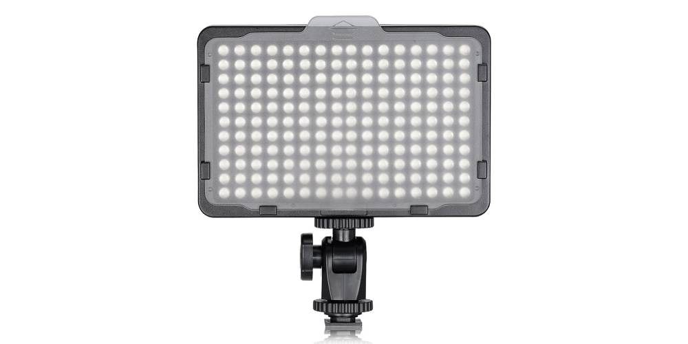 Neweer on Camera Video Light Photo Dimmable 176 LED Panel Image