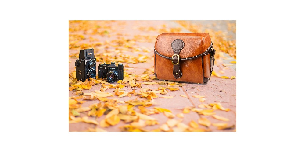 Topixdeals Vintage Camera Bag Image