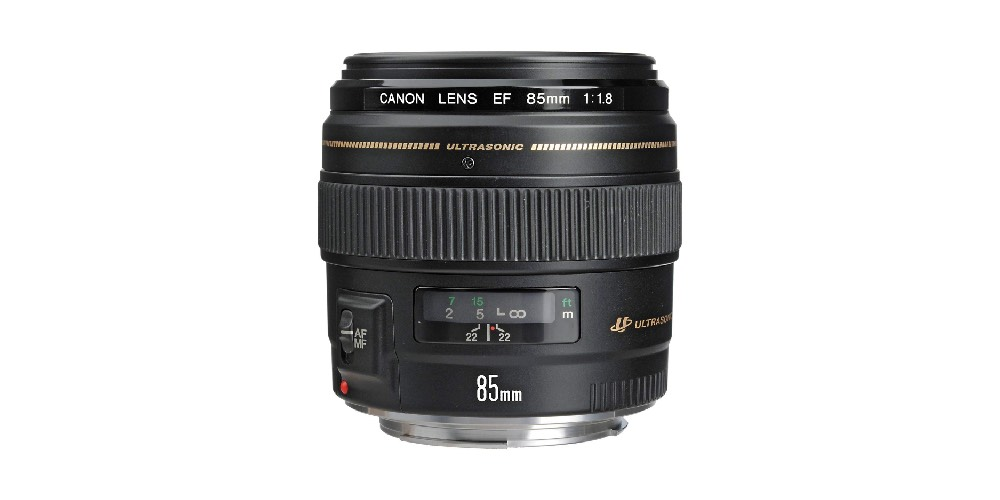 Canon EF 85mm f/1.8 USM Medium Telephoto Lens Image