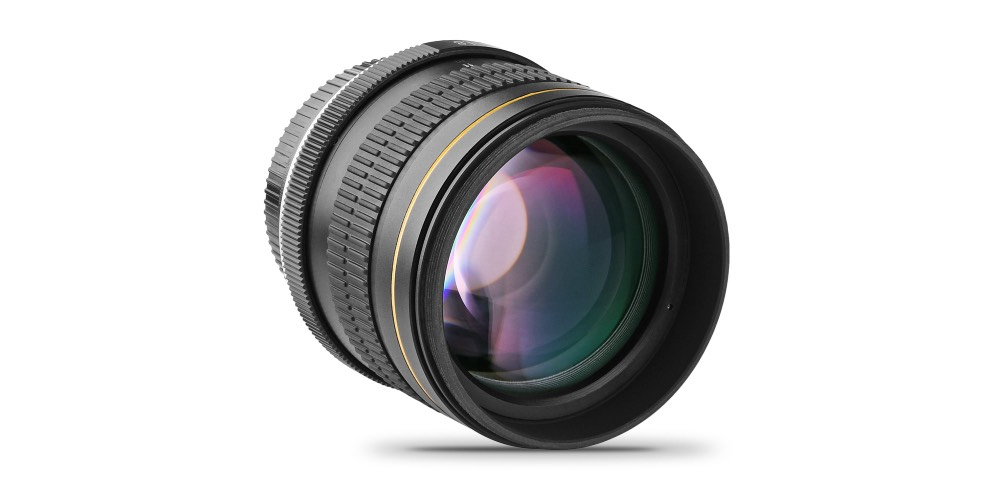 Opteka 85mm f/1.8 aspherical telephoto portrait lens for Nikon DSLRs Image