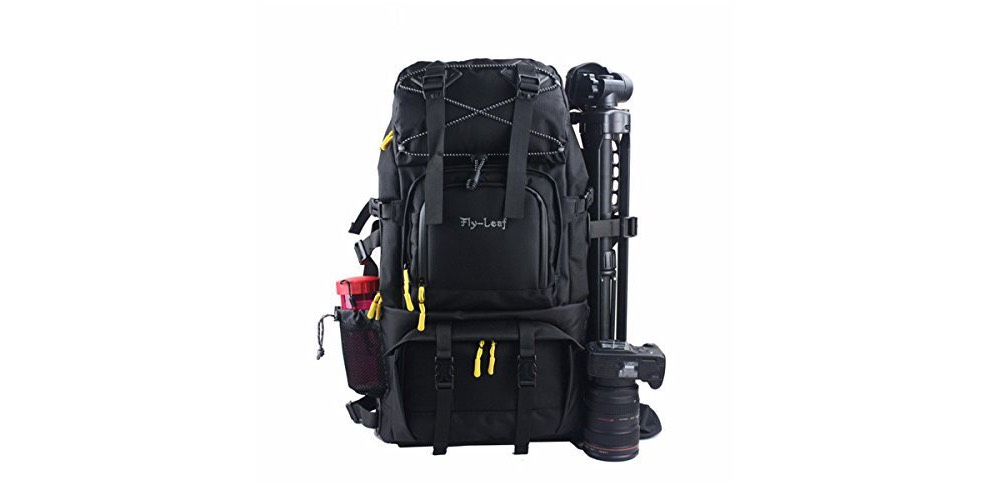 G-Raphy Large Professional DSLR Camera & Laptop Travel Backpack Image