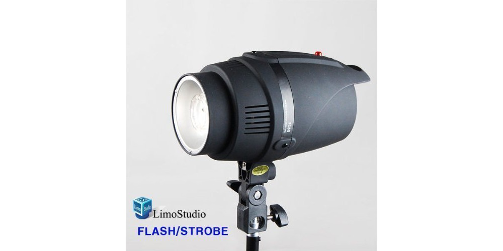 LimoStudio Photography 200W Photo Monolight Flash Strobe Studio Photography Light Lighting Image