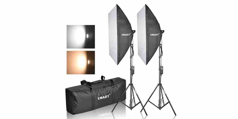 Emart Photography Softbox Lighting Kit Image