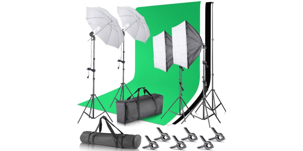 Neewer Softbox Continuous Lighting Kit Image