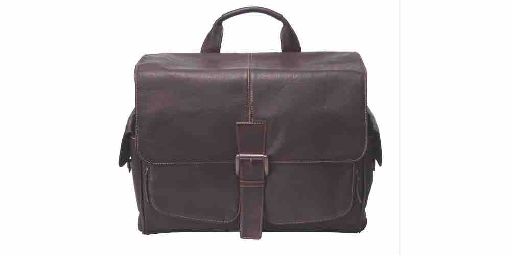 Jill-e Designs Professional Leather Camera Messenger Bag Image