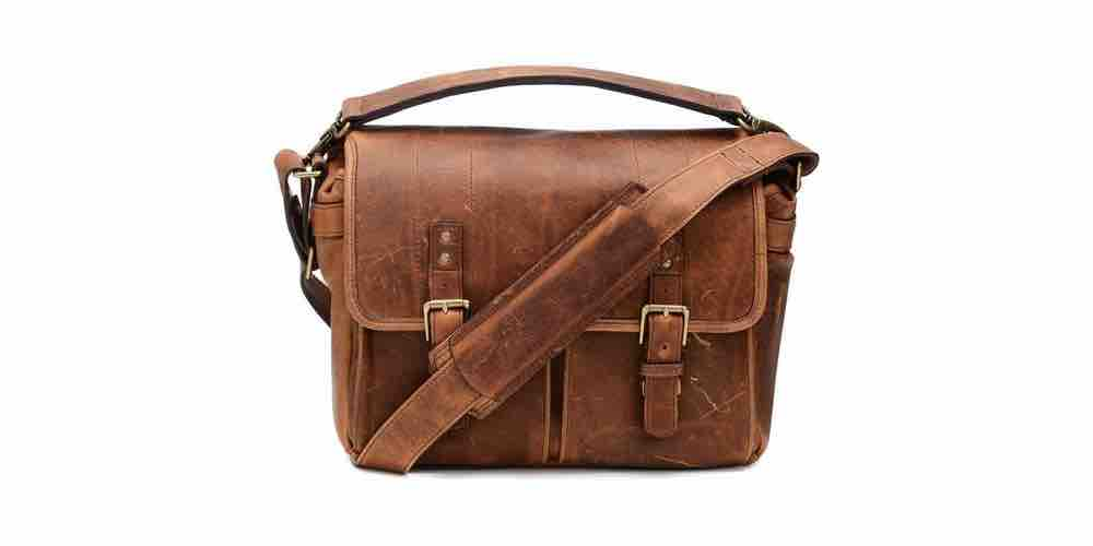 ONA The Prince Street Leather Camera Laptop Messenger Bag Image