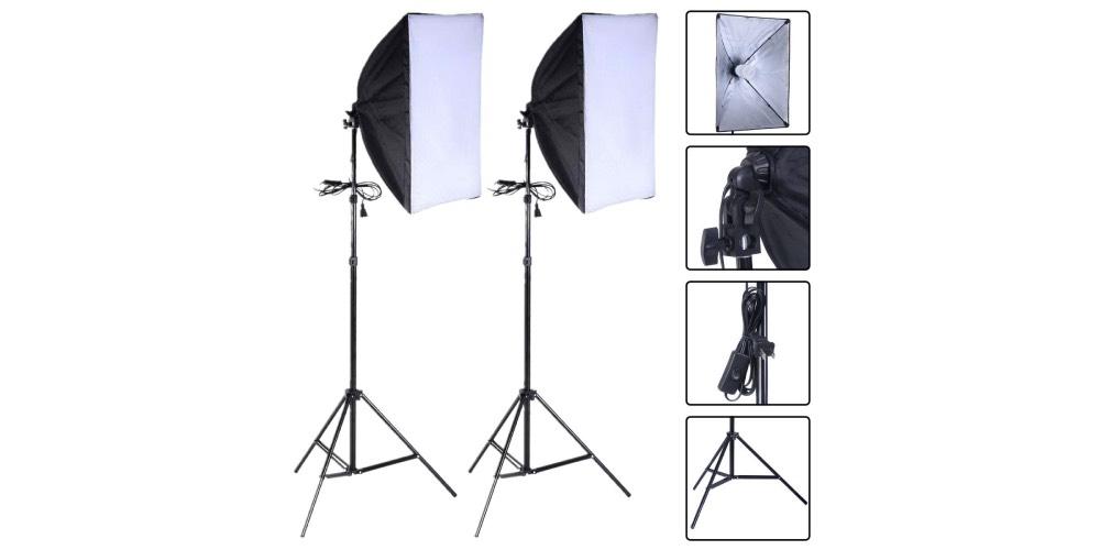 Safstar Photography Softbox Lighting Kit Image