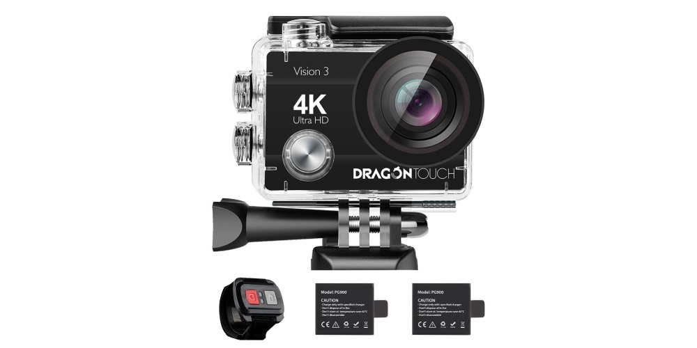 Dragon Touch 4K Action Camera Image