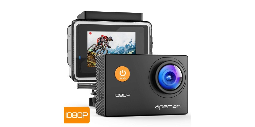 Apeman Action Camera 12MP 1080P FHD Image