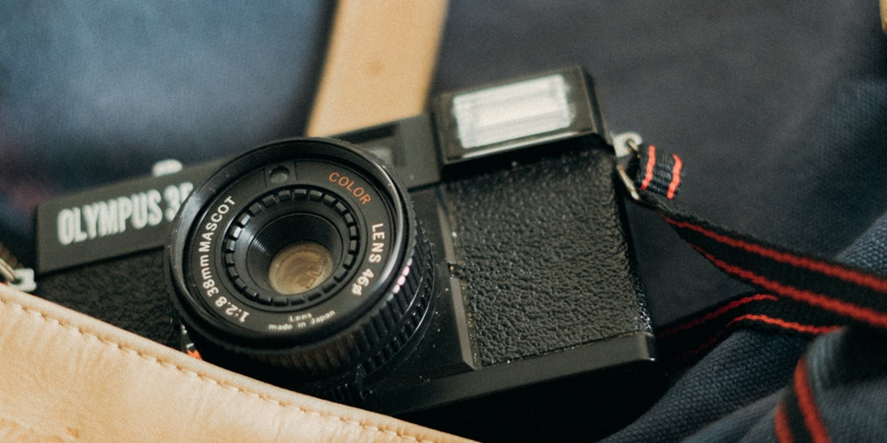 Leather Camera Bags - Camera