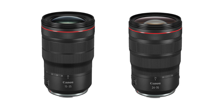 Canon Unveils the RF 15-35mm F2.8L IS and RF 24-70mm F2.8L IS Lenses