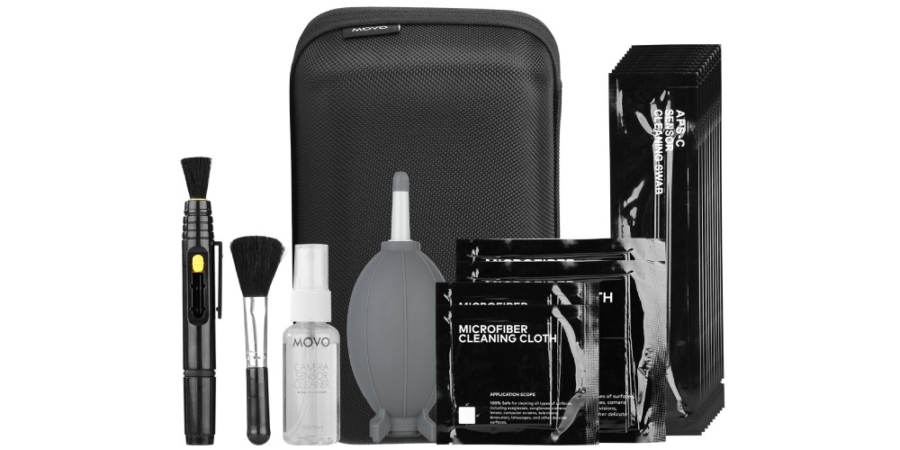 Movo Deluxe Essentials DSLR Cleaning Kit Image