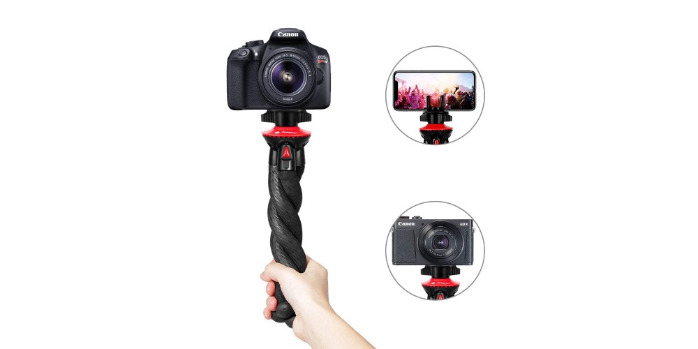 Fotopro Ufo-Basic Tripod For Mirrorless DSLR And Smartphones Image