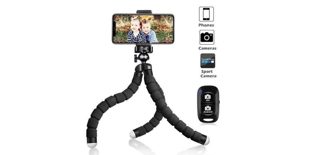 Ubeesize Flexible Premium Cell Phone Tripod S Image