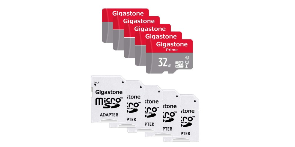 Gigastone Micro SD Card 32GB Image