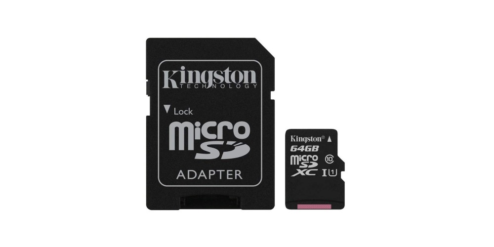 Kingston Canvas Micro SDHC Image