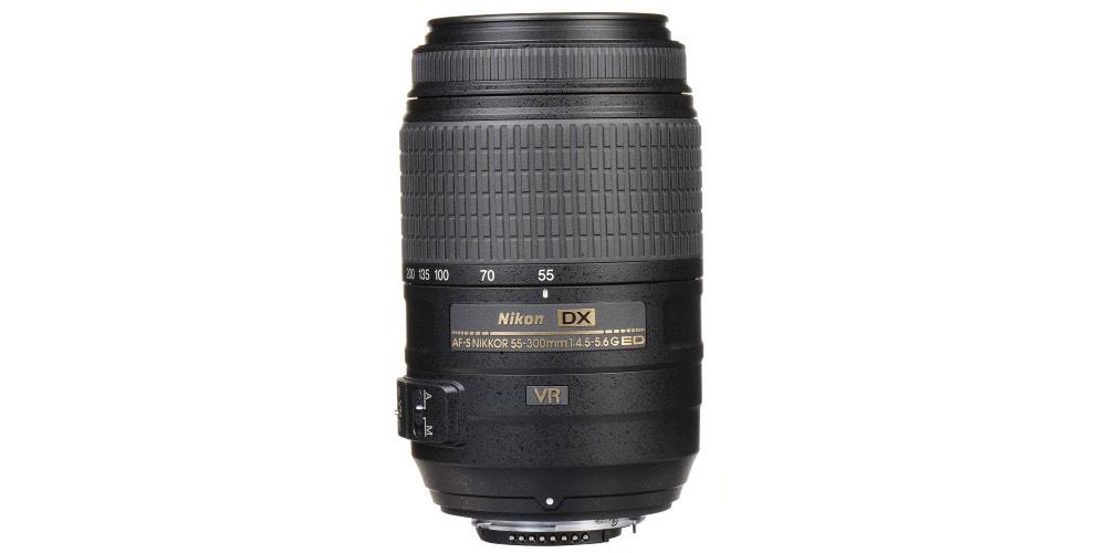 Nikon AF-S DX NIKKOR 55-300mm f/4.5-5.6G ED VR Lens Image