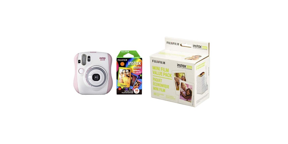 Fujifilm Instax Mini 26 + Rainbow Film Bundle Image