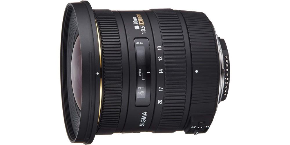 Sigma 10-20mm f/3.5 EX DC HSM ELD SLD Aspherical Super Wide Angle Lens for Nikon Digital SLR Cameras Image