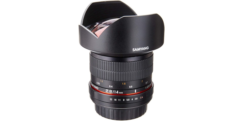 Samyang SY14M-C 14mm F2.8 Ultra Wide Fixed Angle Lens Image