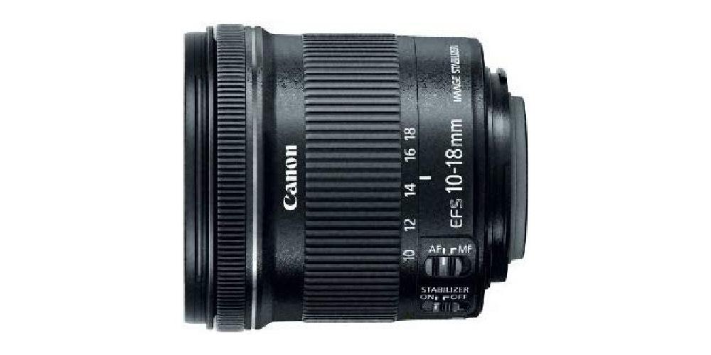Canon EF-S 10-18mm f/4.5-5.6 IS STM Lens Image
