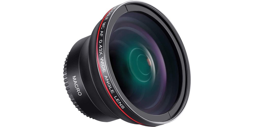 Neewer 58mm 0.43x Professional HD Wide-Angle Lens for Canon EOS Rebel Image