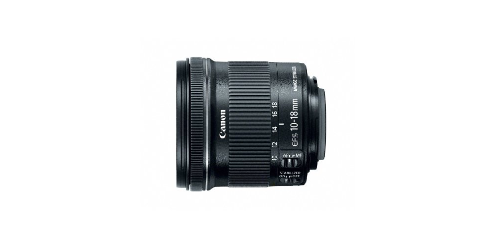 Canon EF-S 10-18mm f/4.5-5.6 Lens Image
