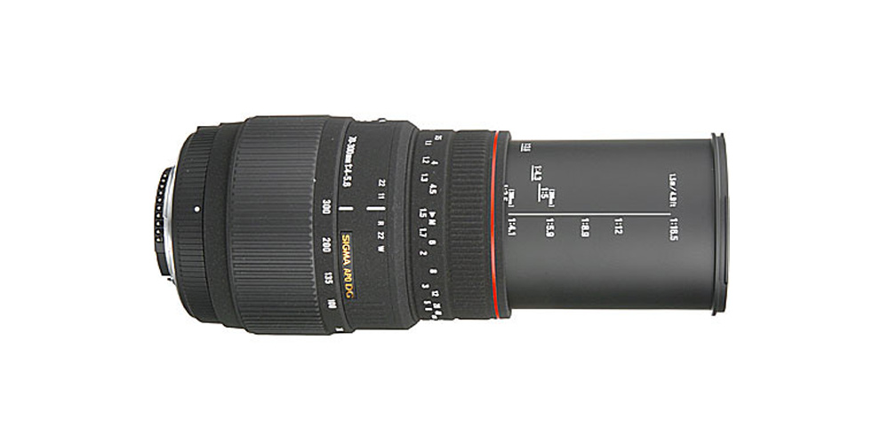 Sigma 70-300mm f/4-5.6 APO DG Macro Image 1