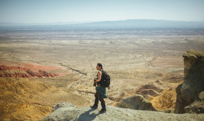 The Best Camera Backpacks- view- desert