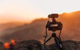 camera-close-up-golden-hour-