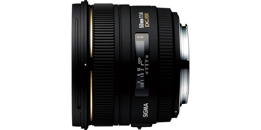 Sigma 50mm f1.4 DG HSM Art Lens Image