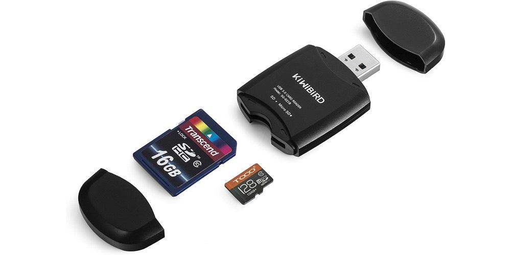 KiWiBiRD USB 3.0 (3.1 Gen 1) Super-Speed Card Reader Image
