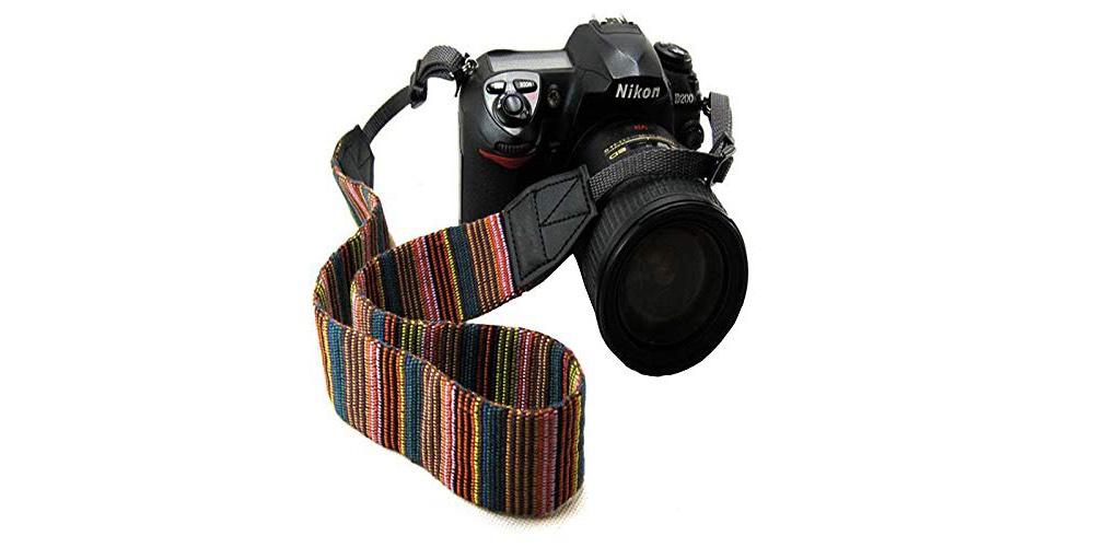 Liroyal Vintage Multi-color Universal Camera Shoulder Strap Image