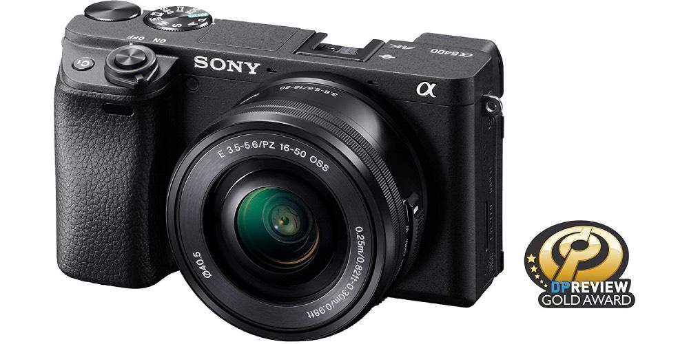 Sony Alpha a6400 Mirrorless Camera Image